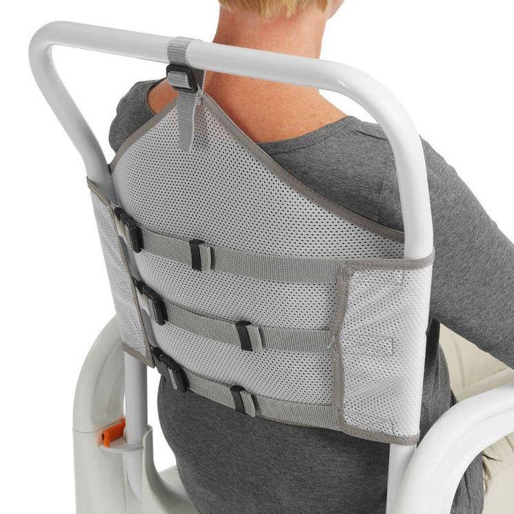 Dossier tissu souple pour chaise de douche Etac Clean