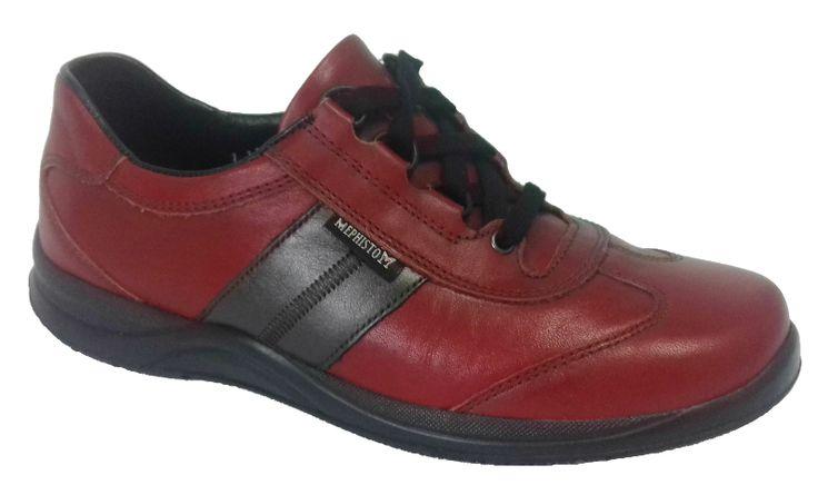 384134f58f9c54 Chaussure Mephisto Laser - Rouge | MEDICONFORT